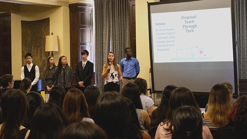 International undergrads present ideas on societal dilemmas